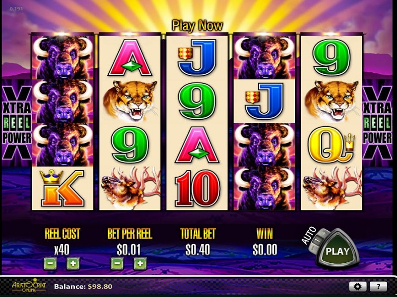 Spiele Buffalo - Video Slots Online
