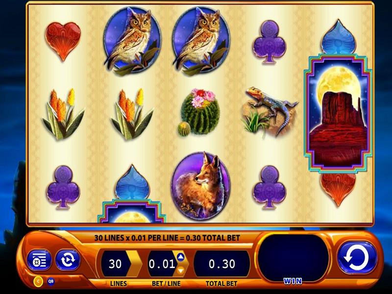 Buffalo Spirit Game screen and symbols