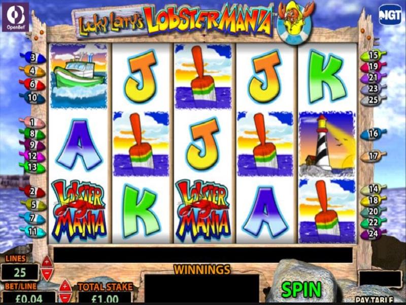 Lobstermania 2 slots free play online