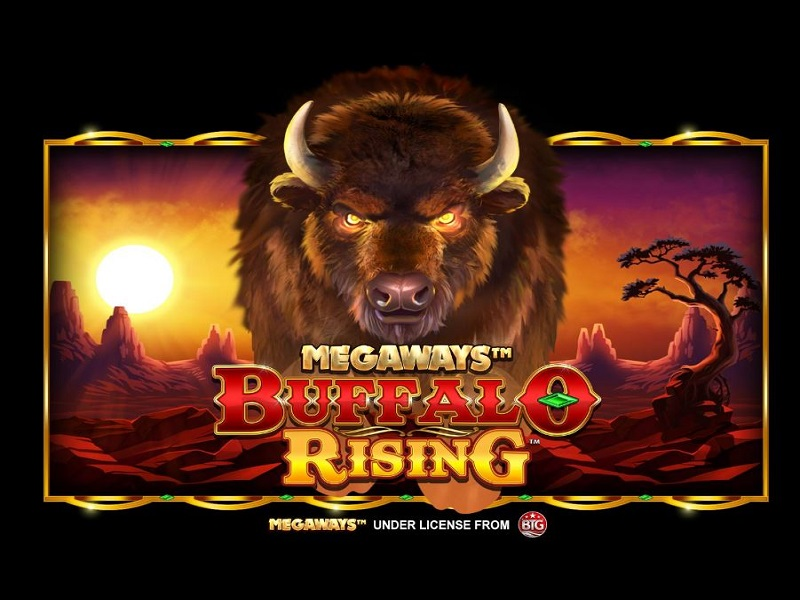 Buffalo Rising Megaways Game Megaways logo